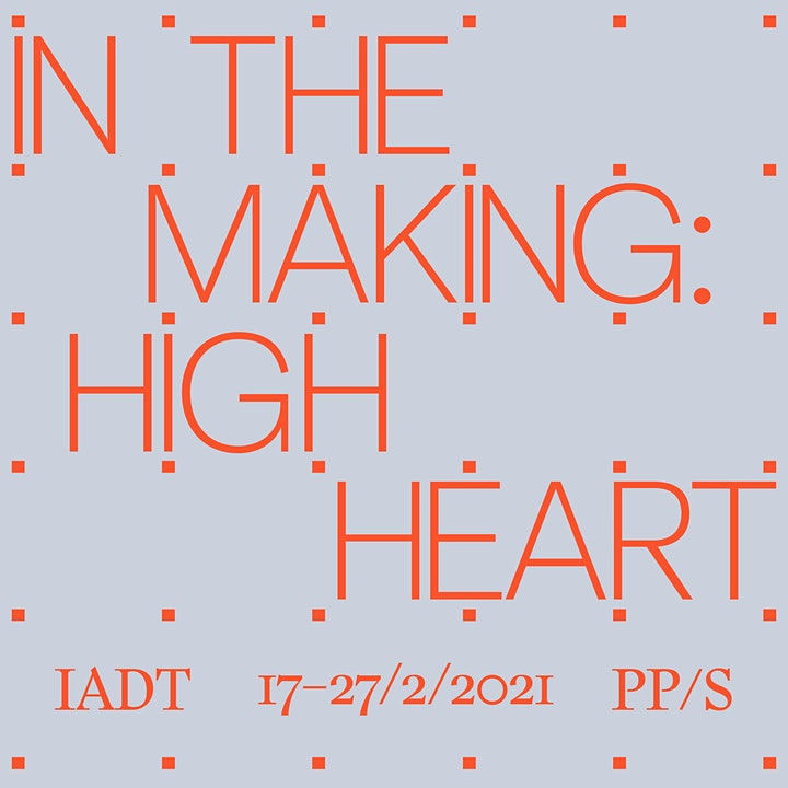 High Heart : In the making—Sustaining art practice with Jesse Jones image