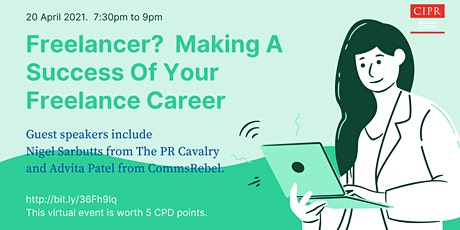 Freelance? - Making A Success Of Your Freelance Career. tickets