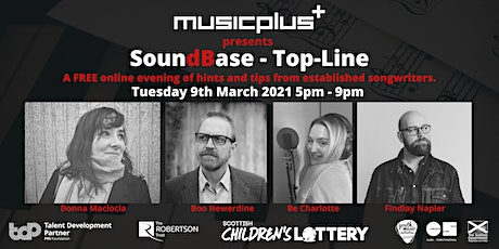 Music Plus presents Top Line // An online evening for Songwriters tickets