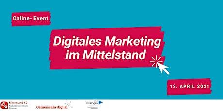 Digitales Marketing im Mittelstand tickets