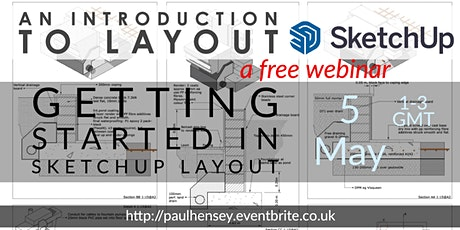 Sketchup : Introduction to using Layout Tickets
