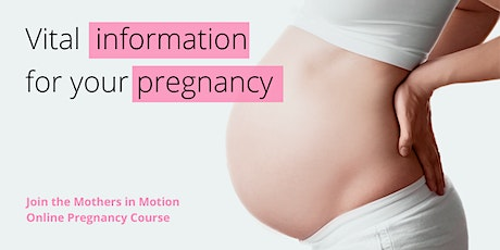 Online pregnancy course Advantage Package: Start 15/06/2021 tickets
