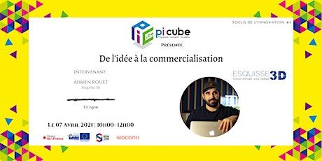 Focus de l'innovation #4 : de l'idée à la commercialisation billets