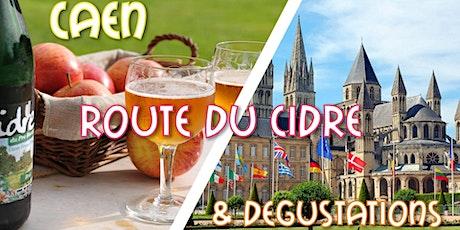 Caen, Beuvron-en-Auge, Route du Cidre & Dégustations 29,9€ billets