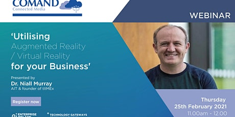 Utilising Augmented Reality / Virtual Reality for your Business tickets