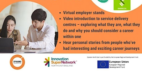 VIRTUAL CAREERS FAIR: SERVICE DELIVERY CENTRES tickets
