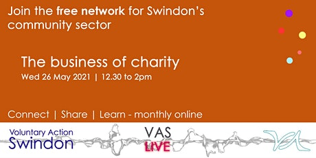 VAS-LIVE - business skills for voluntary organisations tickets