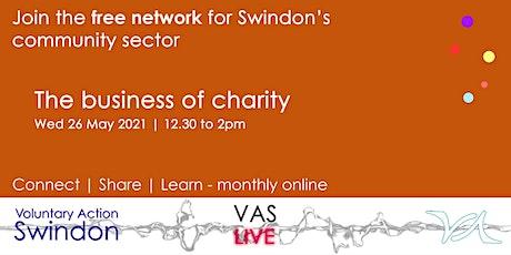 VAS-LIVE - business skills for voluntary organisations tickets