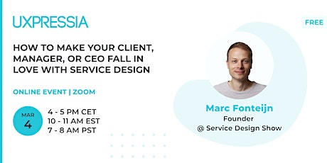 How to make your client, manager, or CEO fall in love with service design tickets