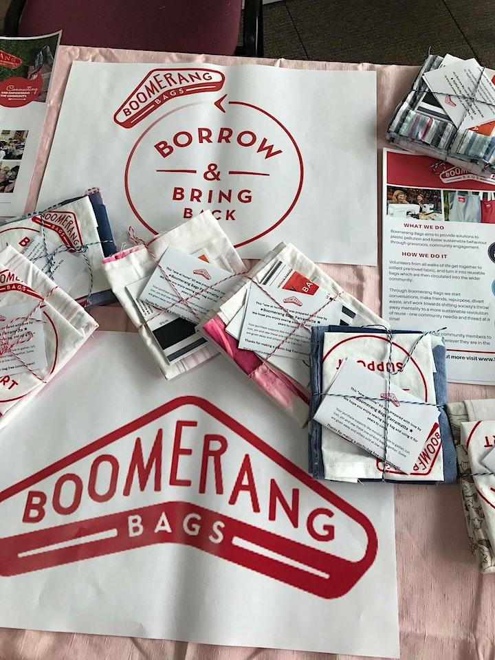 Boomerang Bags Parramatta community Bag Making bees 2021 image