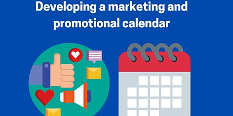 Creating a marketing and promotional calendar tickets