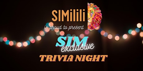 SIM Trivia Night tickets