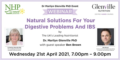 Natural Solutions For Your Digestive Problems And IBS tickets