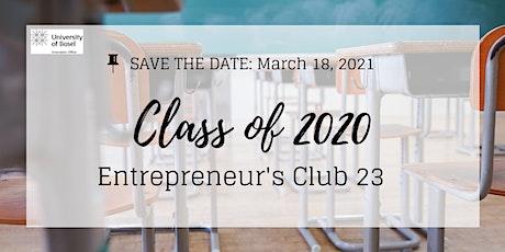 Basel Entrepreneurs Club 23 tickets