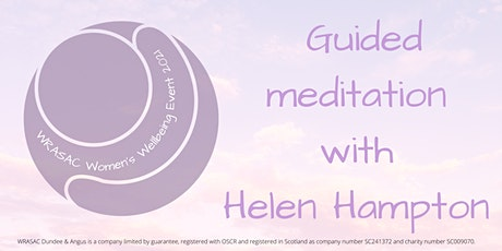 WRASAC Wellbeing Event - Guided Meditation -10:00am tickets