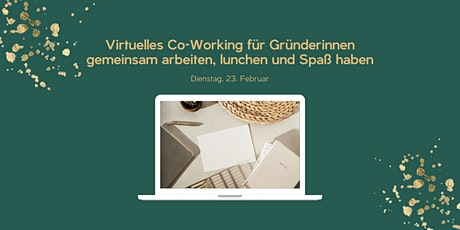 Virtuelles Co-Working tickets