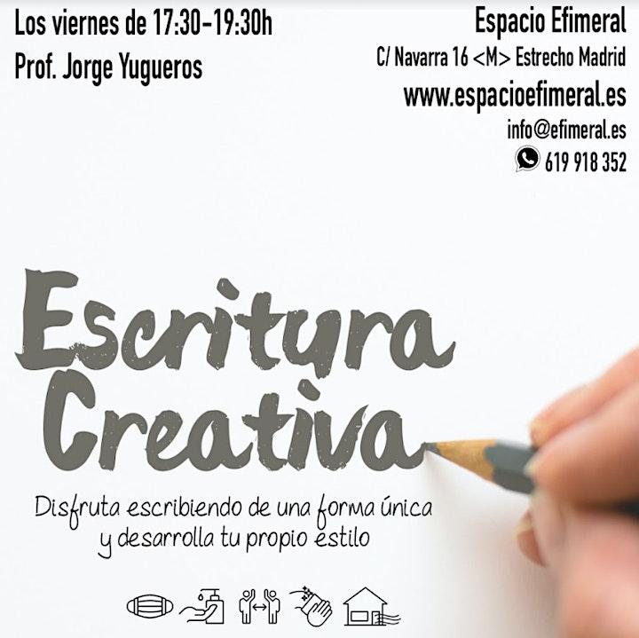 Curso de escritura creativa en Espacio Efimeral image