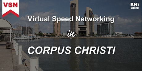 Virtual Speed Networking in Corpus Christi tickets