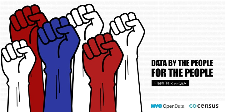 Data by the People, For the People: Flash Talk & Q&A image