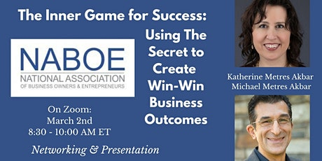 NABOE INSPIRE with Daya Naef: Using the Inner Game for Business Performance tickets