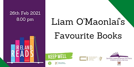 Ireland Reads: Liam O'Maonlaí's Favourite Books tickets
