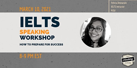 IELTS Speaking Workshop: How to Prepare for Success tickets