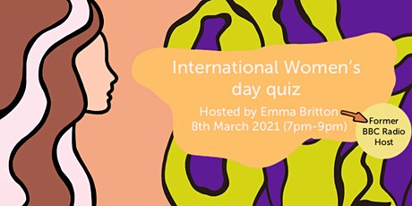 International Women's Day Virtual Quiz tickets