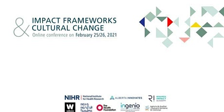 Impact Frameworks and Cultural Change tickets