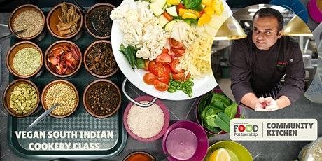 Vegan South Indian cookery with Chef Kanthi from Easy Tiger (in person) tickets
