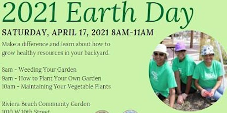 Earth Day 2021 tickets