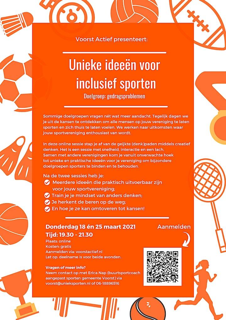 Afbeelding van Training Unieke ideeën  voor inclusief sporten