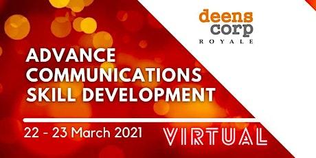 Advance Communications Skill Development tickets