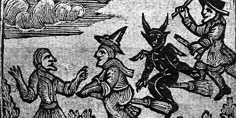 Witchcraft and Witch Persecution in Early New England - Virtual Lecture tickets