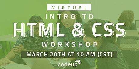 Codeup | Learn to Code: HTML & CSS (Intro to Web Development) tickets