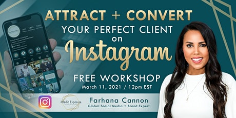Attract and Convert Your Perfect Client on Instagram tickets