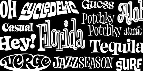 Dynamic Lettering tickets