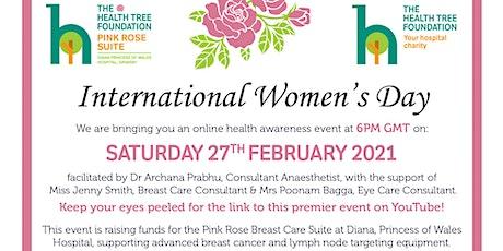 International Women's Day 2021, Health Awareness Campaign billets
