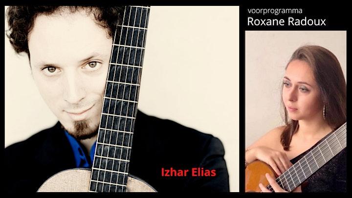 Afbeelding van ONLINE CONCERT Izhar Elias met Roxane Radoux in voorprogramma
