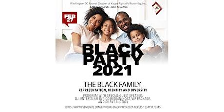 10th Annual Virtual Black Party - 2021 tickets