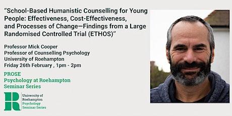 PROSE@Roehampton Psychology Talk tickets