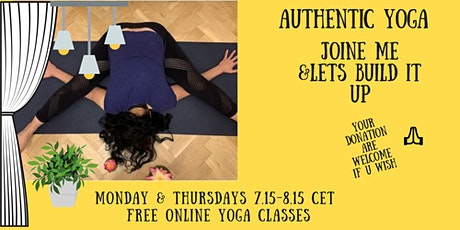 Online Authentic Yoga tickets