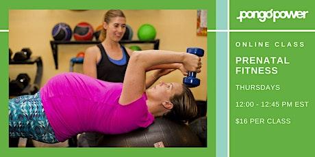 Online Prenatal Fitness Class tickets