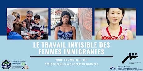 Le travail invisible des femmes immigrantes billets