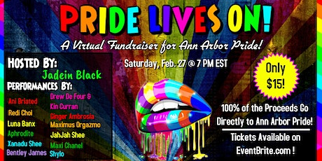 Pride Lives On: A Kickoff Virtual Fundraiser for Ann Arbor Pride tickets