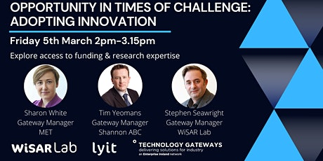 Opportunity in Times of Challenge: Adopting Innovation tickets