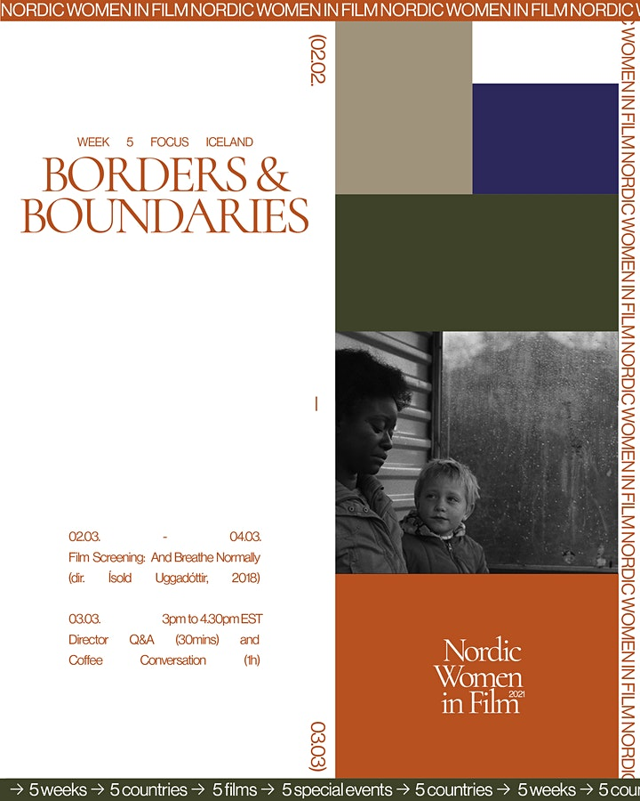 NWiF / BORDERS AND BOUNDARIES /Film Screening AND BREATHE NORMALLY image