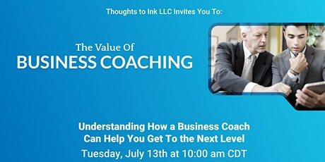 The Value of Business Coaching tickets