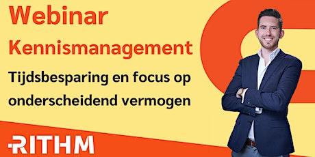 Webinar Kennismanagement tickets