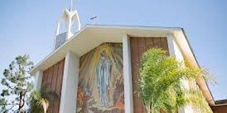 St. Bernadette Church, L.A.: Weekend  & Ash Wed Masses in School Courtyard tickets