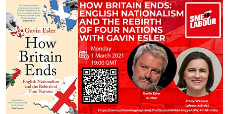 How Britain Ends: English Nationalism and the Rebirth of Four Nations tickets
